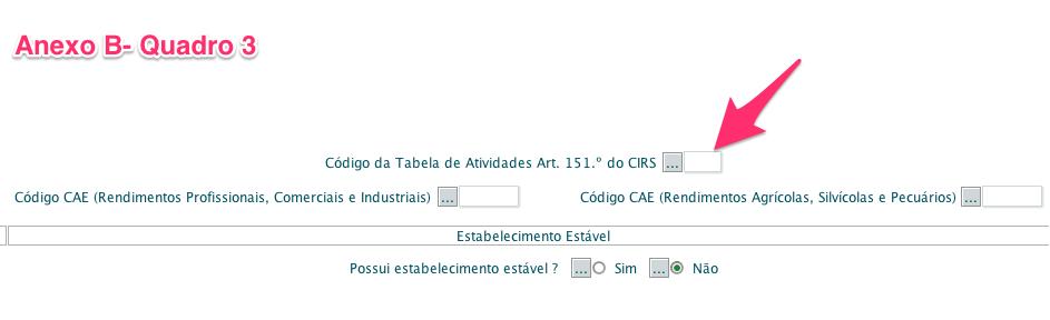 Código CIRS vs CAE