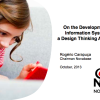 Design Thinking Desenvolvimento SI